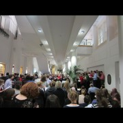The OUP Oxford Choir performs