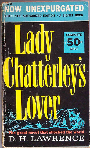 Lady Chatterley's Lover by D.H. Lawrence. Photo by Chris Drumm, CC BY 2.0, via Flickr.