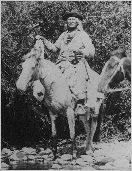 Chief Washakie of the Shoshone