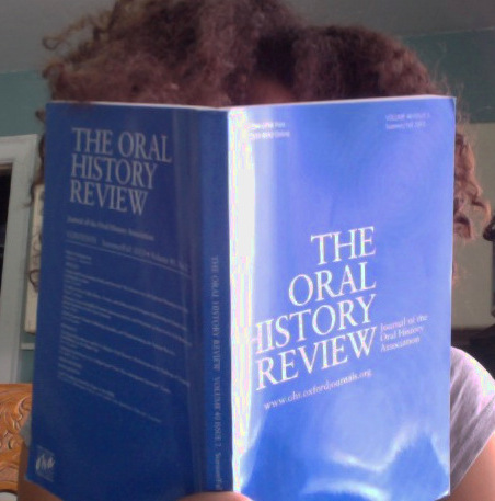 Reading The Oral History Review