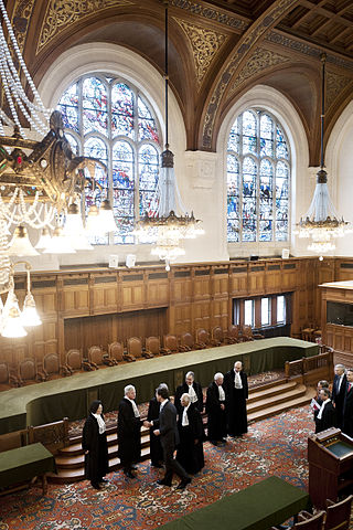 The International Court of Justice. Photo by Minister-president Rutte. Creative Commons License via Flickr.