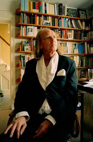 Sir John Tavener. Photo by Devlin Crow. Creative Commons License via Wikimedia Commons.