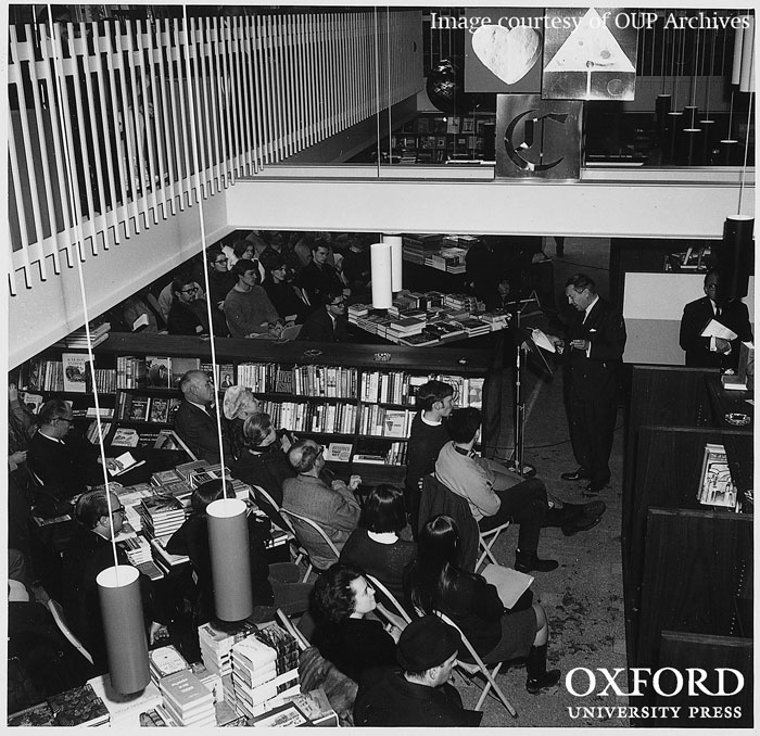 OUP Canada. From Volume 3 of the History of Oxford University Press. Image courtesy of OUP Archives. Do not reproduce without permission.