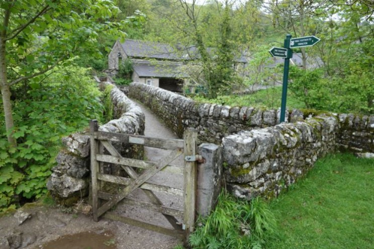 Bridge at Milldale, Staffordshire