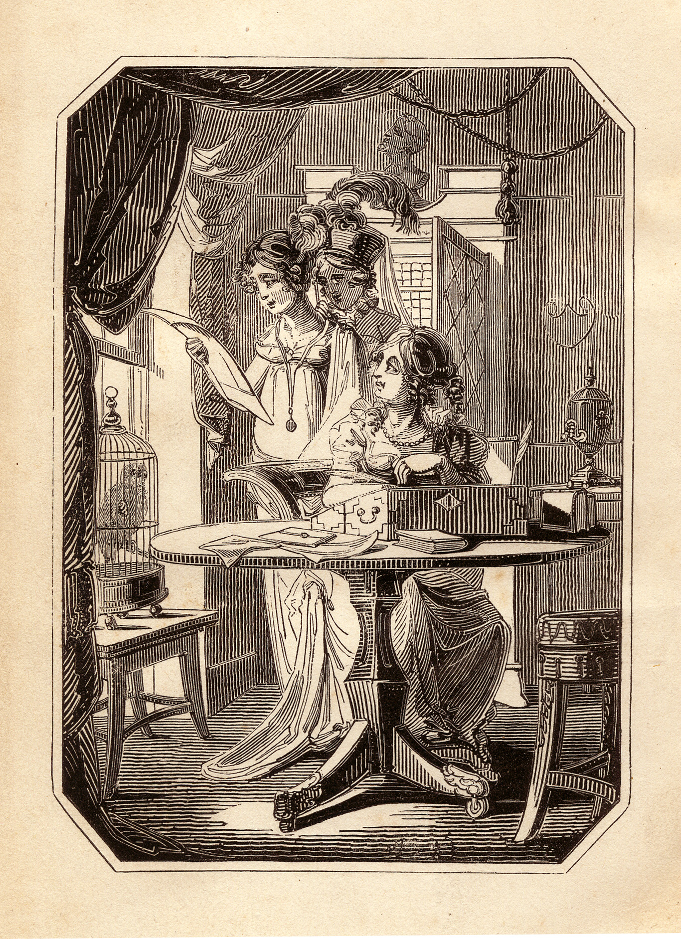 Jane Austen at Writing Desk