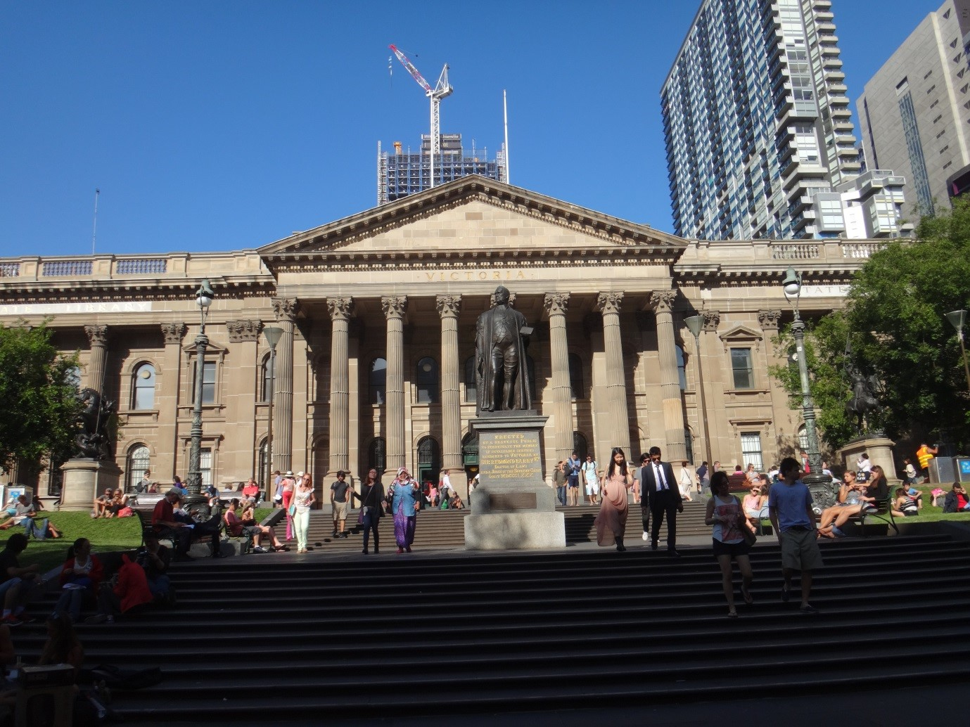 The Victoria State Library, Melbourne