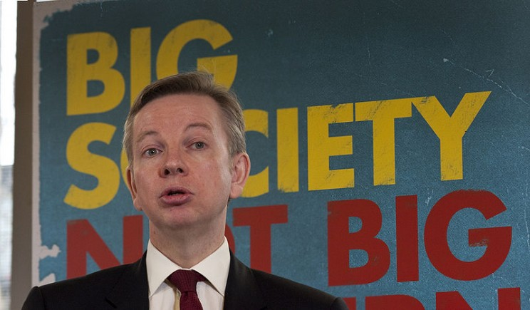 Michael Gove, by Paul Clarke, CC-BY-3.0 via Wikimedia Commons.