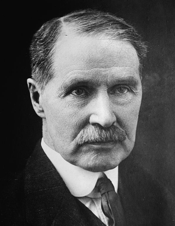 Andrew Bonar Law, British leader of the opposition. Public domain via Wikimedia Commons