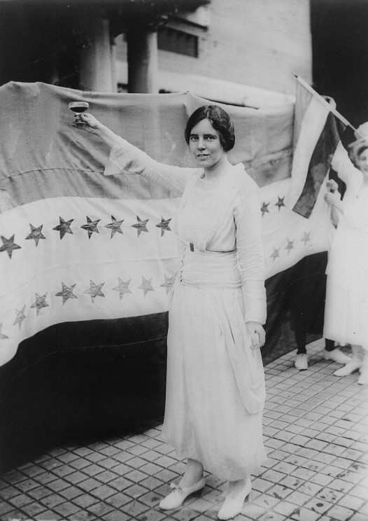 Alice Paul. Public Domain via Wikimedia Commons.