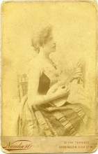 Clara Ross, c. 1888-90. [Image Credit: Courtesy of Andrew Ross.]
