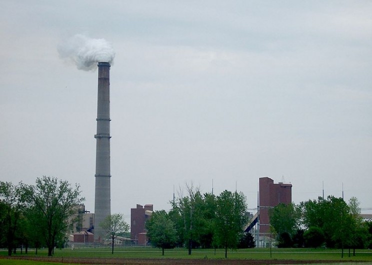 Kintigh Generating Station, a coal-fired power plant in Somerset, New York. Image Credit: Matthew D. Wilson, CC BY-SA 2.5 via Wikimedia Commons.