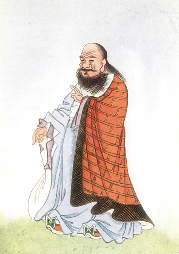 Image Credit: 'Portrait of Lao Zi (Lao Tzu); February 1922, from Edward Theodore Chalmers Werner's 'Myths and Legends of China', Public Domain, via Wikimedia Commons.