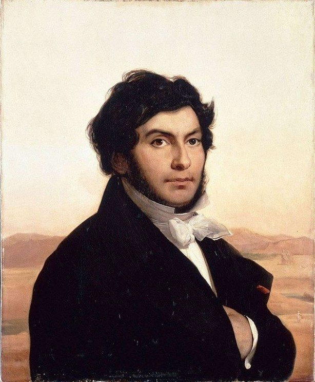 Jean-François Champollion, the father of Egyptology (1790-1832). He was a polyglot and a linguist.