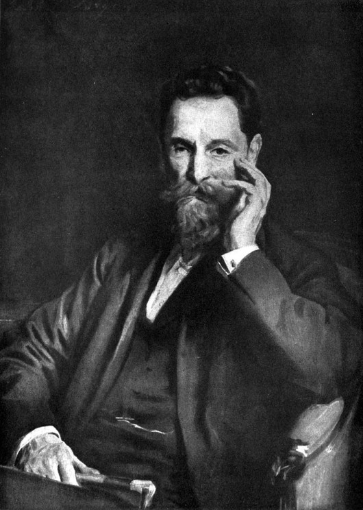 """Portrait of United States publisher Joseph Pulitzer."" The Cyclopædia of American Biography (1918). Public Domain via Wikimedia Commons."