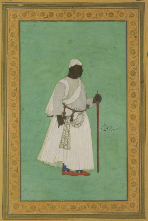 """Malik Ambar"" by Hashim. Public Domain via Wikimedia Commons."