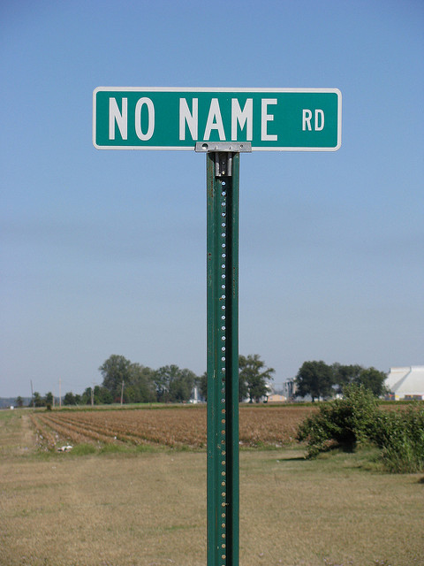 No Name Road by NatalieMaynor, CC BY 2.0 via Flickr