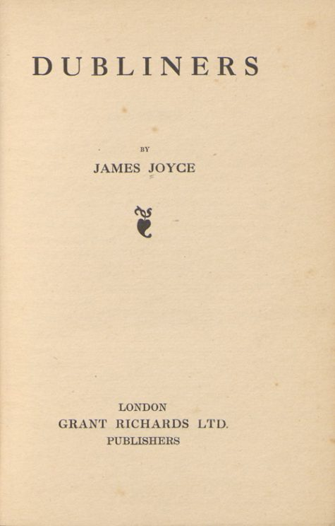 Dubliners_title_page