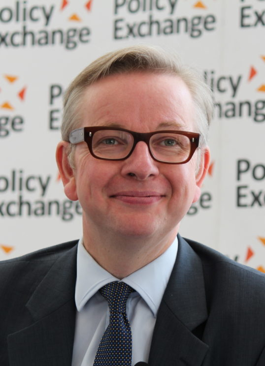 Michael Gove at Policy Exchange delivering his keynote speech 'The Importance of Teaching'. Perhaps he should follow his own expert advice and learn from the experts. Image CC BY 2.0 via Wikimedia Commons.