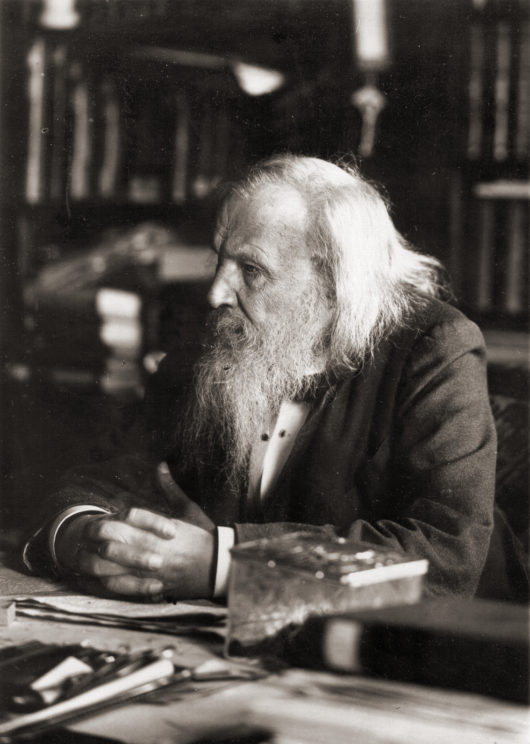 Dimitri Mendeleev is one of the most well-known scientists credited for the discovery Image Credit: Serge Lachinov