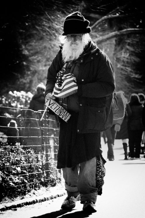 Homeless Veteran social issues