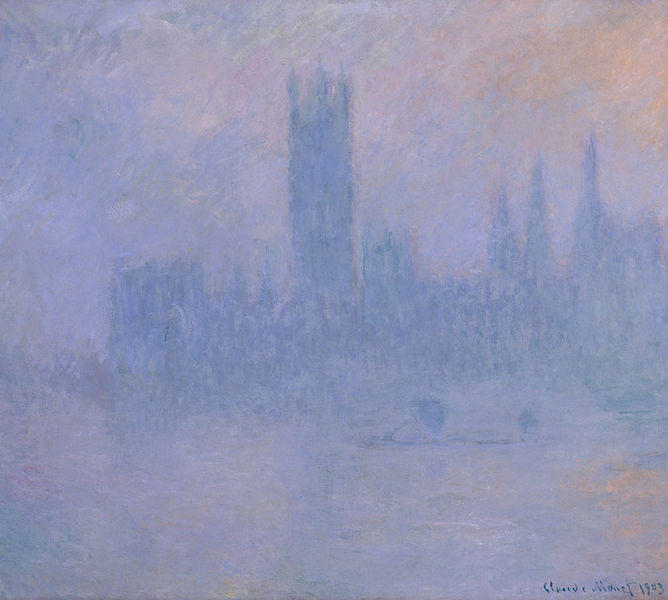 The Impressionists introduced mists to London.
