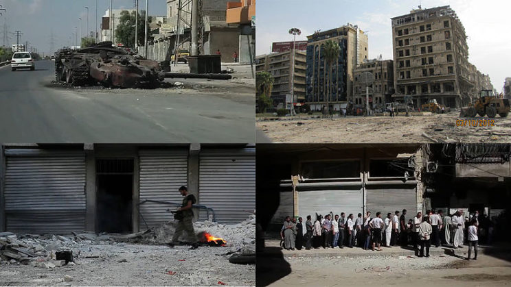 """""""Battle of Aleppo"""" Compilation by: Pereslavtsev, CC BY 2.0 via Wikimedia Commons."""