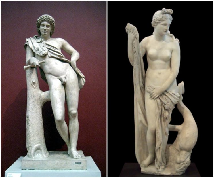 Only Praxiteles is perfect. Etymologies seldom are.