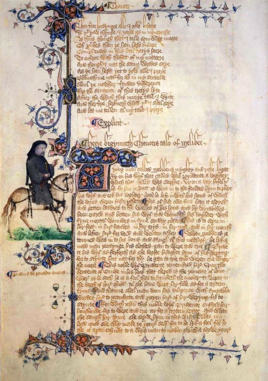 was chaucer really a writer oupblog chaucer huntington library ldquo