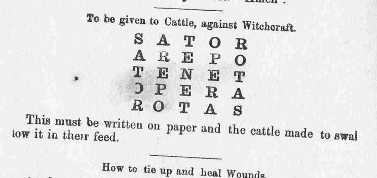 Cattle spell