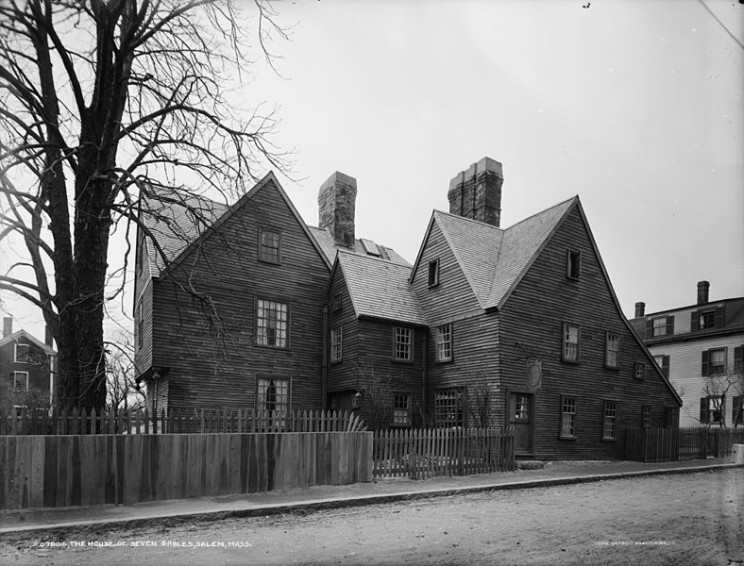 The House of the Seven Gables in Salem
