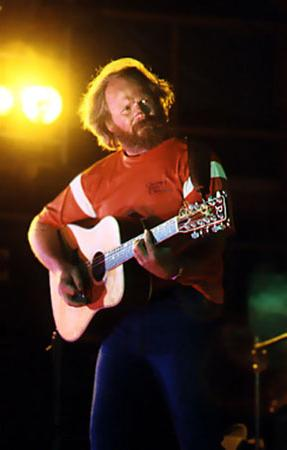 Barry McGuire at the 3 day Music & Alternatives festival, New Zealand 1979. Via Nambassa Trust and Peter Terry.
