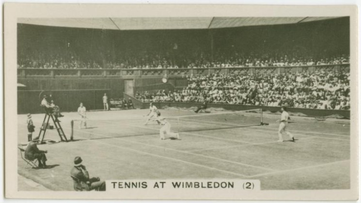 Tennis at Wimbledon (2) (ca. 1922-1939)