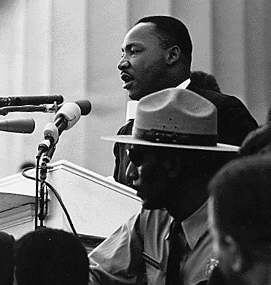 """Martin Luther King, Jr., Delivers Historic """"I Have a Dream"""" Speech"""
