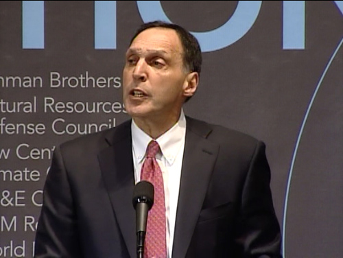 Richard S. Fuld, Jr. at World Resources Institute forum