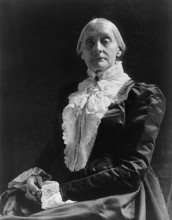 Susan B. Anthony, late in life