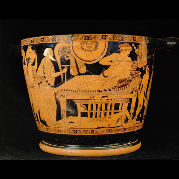 Scenes From Homer S The Iliad In Ancient Art Oupblog