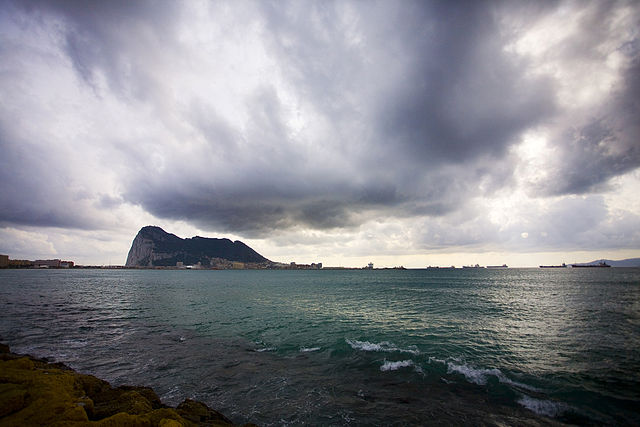 The Rock of Gibraltar. Photo by Karyn Sig, 2006. Creative Commons License via Wikimedia Commons