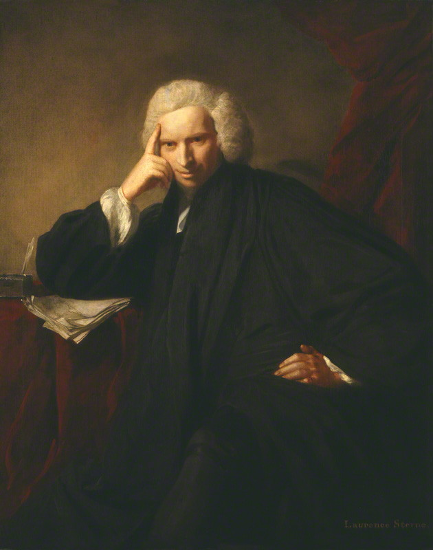 'Laurence Sterne' by Sir Joshua Reynolds (1760), NPG 5019 © National Portrait Gallery, London (provided under Creative Commons license)