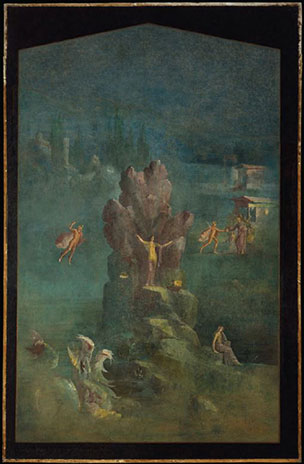 Perseus and Andromeda, fresco, last decade of 1st BCE. Image copyright © The Metropolitan Museum of Art. Image source: Art Resource, NY