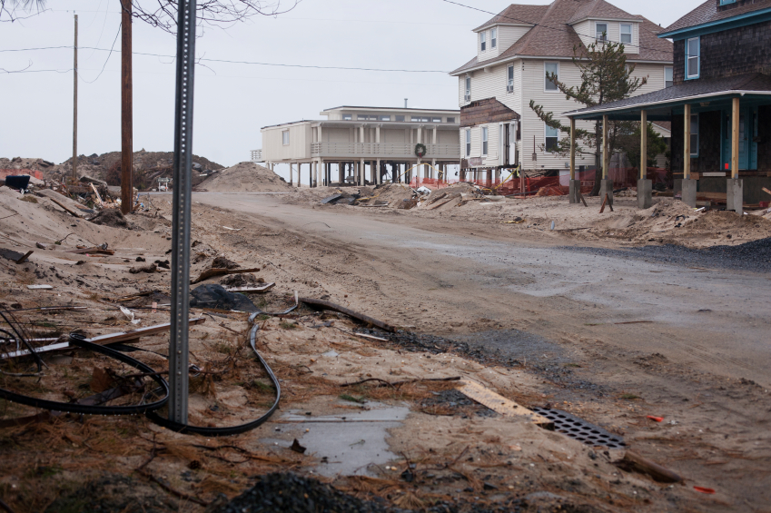 sandy disaster