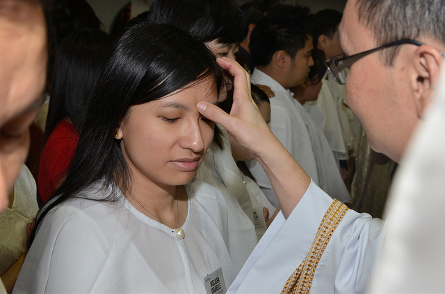Anointing with Holy Oil