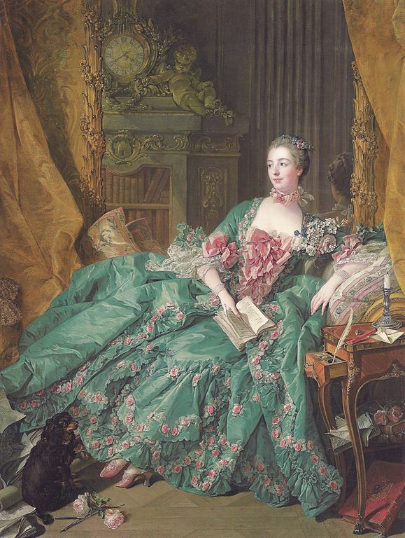 The most famous of all marquises: Madame (Marquise) de Pompadour.
