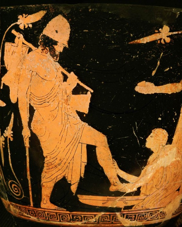 Image result for Ancient GReek odysseus in disguise