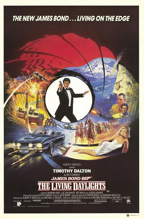 The Living Daylights Film Poster (c) MGM