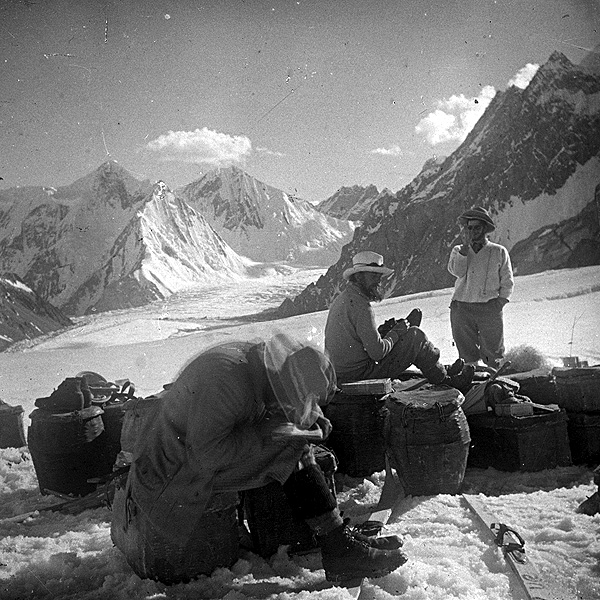 Photo of K2 expedition.