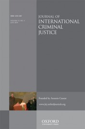 jicj Journal of International Criminal Justice