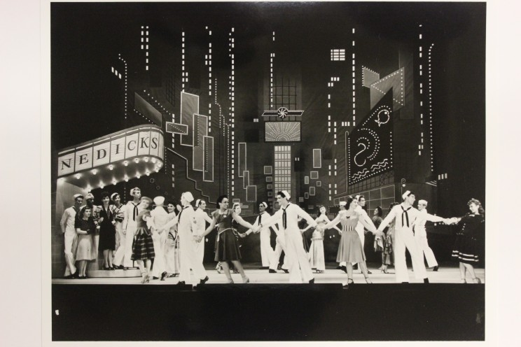 Photograph from the Souvenir Program for On the Town.