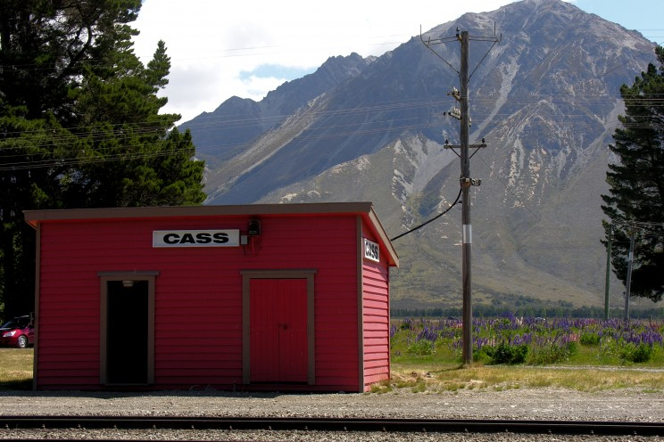 Cass Station, Canturbury, which inspired Rita Angus's painting, Cass. Photo by Phillip Capper. CC BY 2.0 via Flickr.