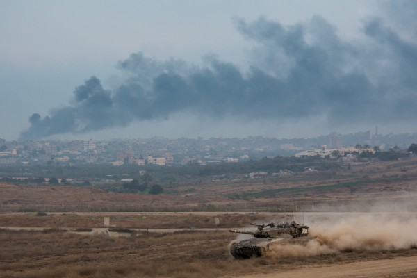 Armored corps operating in the Gaza Strip. Photo by Israel Defense Forces. CC BY-NC 2.0 via Flickr.