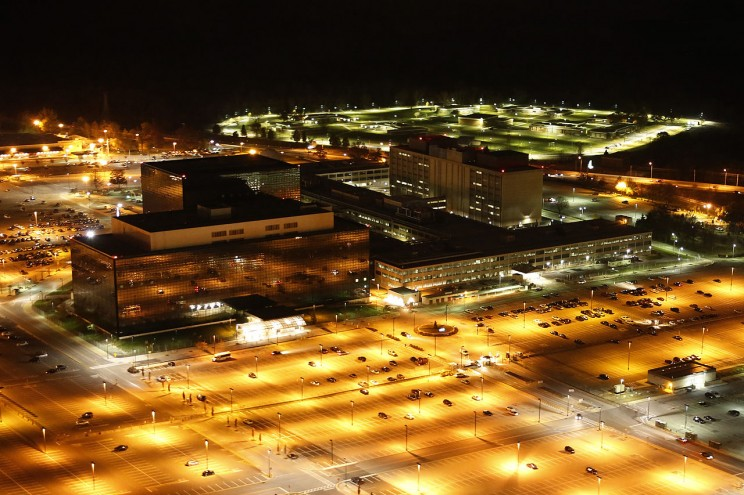 Aerial photograph of the National Security Agency by Trevor Paglen. Commissioned by Creative Time Reports, 2013. CC0 via Wikimedia Commons.